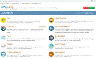Info Pulsagram Bisnis Pulsa HP, Token PLN, Aplikasi Pembayaran Online