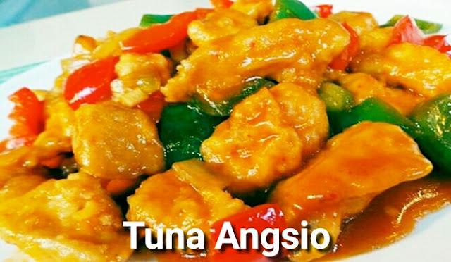cara memasak tuna angsio