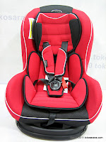 Pliko PK717B Baby Car Seat - Forward and Rear Facing