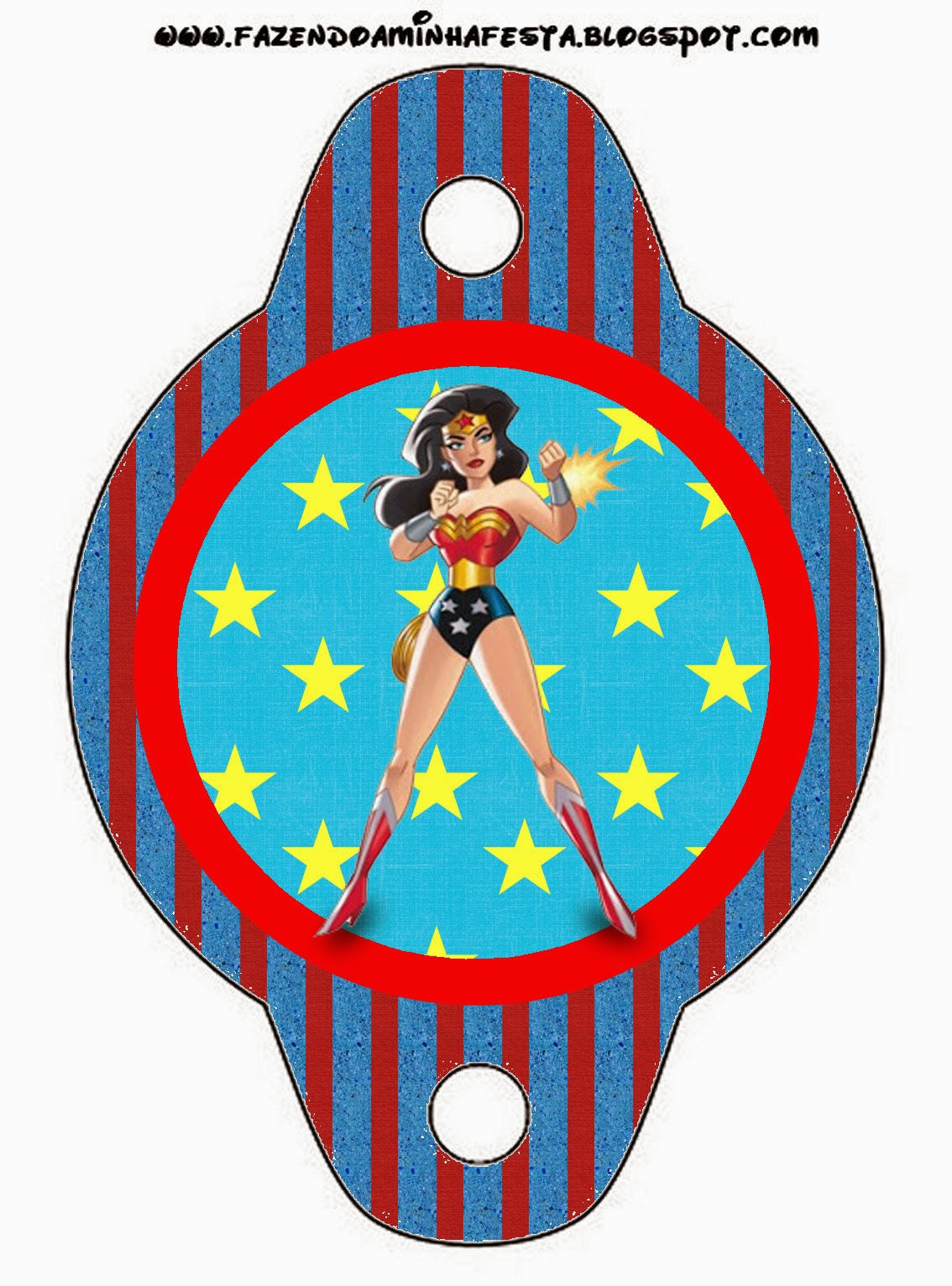This is a graphic of Trust Free Wonder Woman Printables