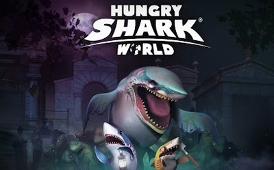 Hungry Shark World Mod Apk v2.9.0 Unlimited Gems Terbaru