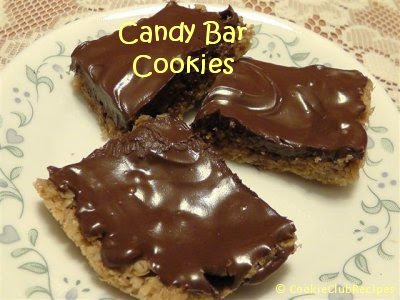 Candy Bar Cookies Recipe by CookieClubRecipes