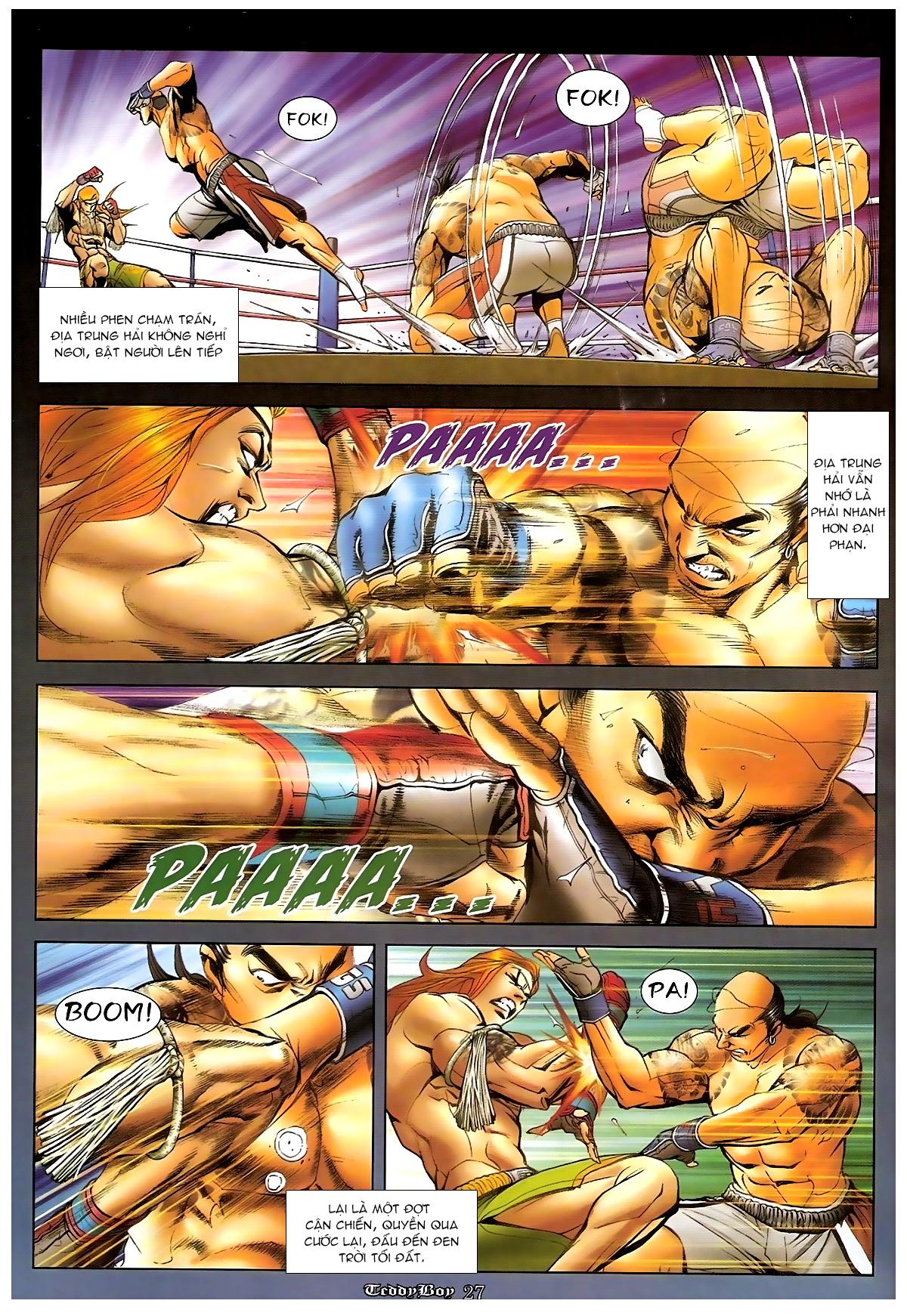 Người Trong Giang Hồ - Chapter 1250: Tối Cường vs Tối Cường 2 - Pic 23
