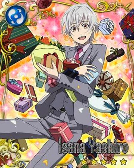 His comment about anna causes mikoto to open his eyes, allowing the colorless king to penetrate it and enter his body, where he attempts to eat his aura. New SR Card Isana Yashiro Birthday~~:3