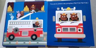 Mes Véhicules animés - THOMAS JEUNESSE - le camion de pompier