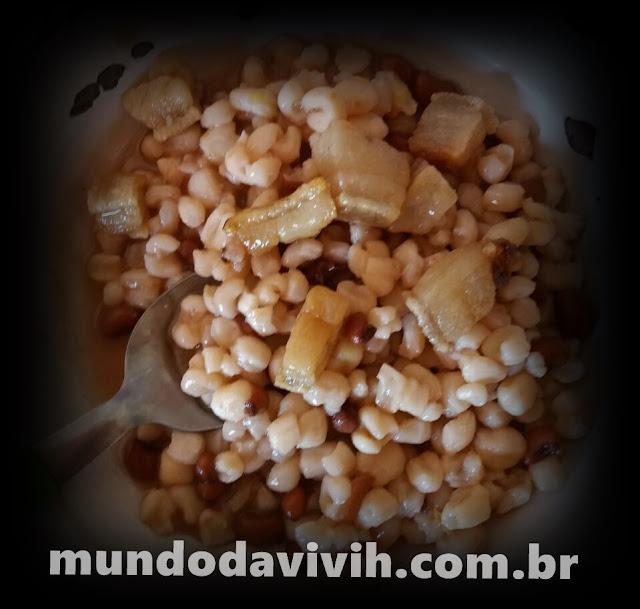 Mugunzá Salgado ( Canjica Salgada)