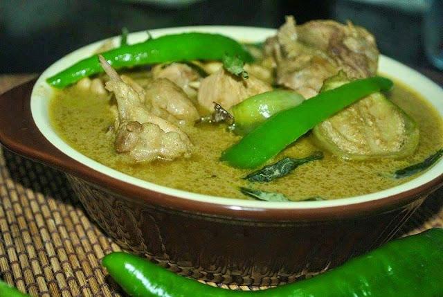 Resepi Kari Ayam Hijau Thai
