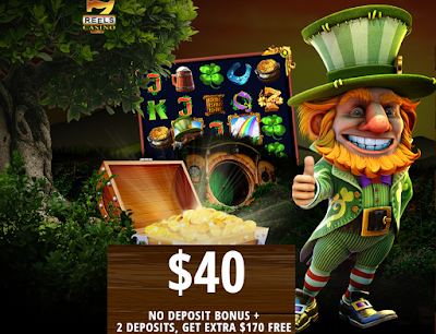 7Reels Casino | $40 FREE, make 2 deposits get another $170 FREE