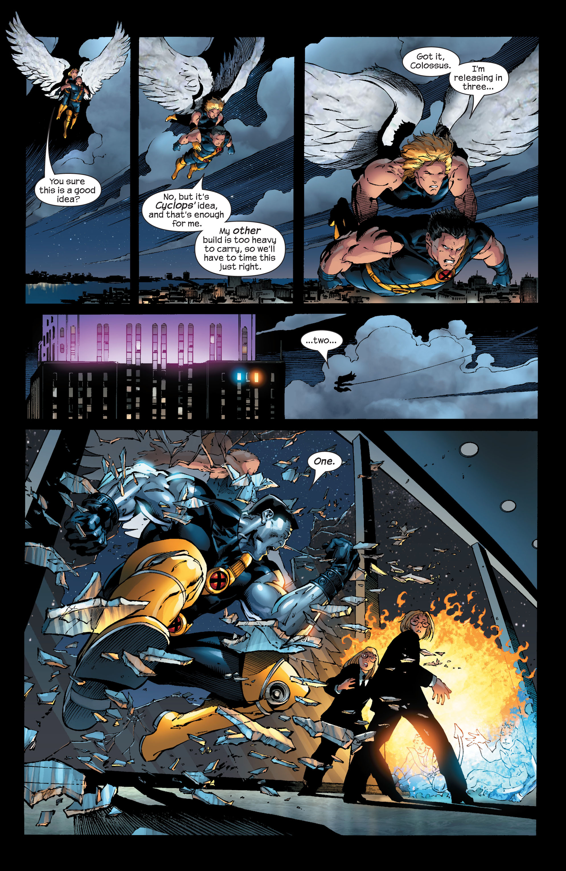 Read online Ultimate X-Men comic -  Issue #53 - 15