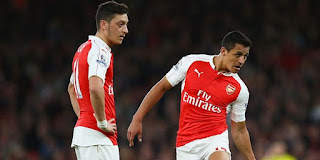 Mesut Ozil and Alexis Sanchez for Best Player Award FIFA