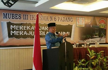 Mubes IKA SMA Negeri 6 Padang, Ini Kata Wawako Emzalmi