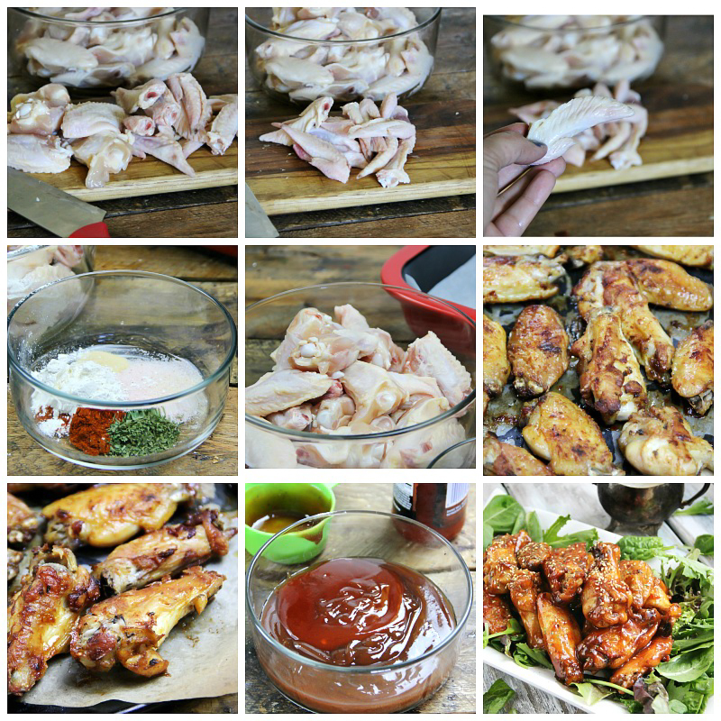 Delicious #recipe for Spicy Baked BBQ Wings