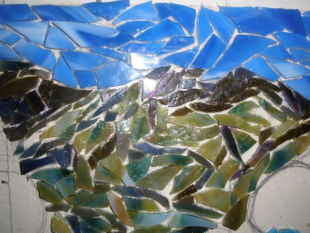 Water Mosaic Art