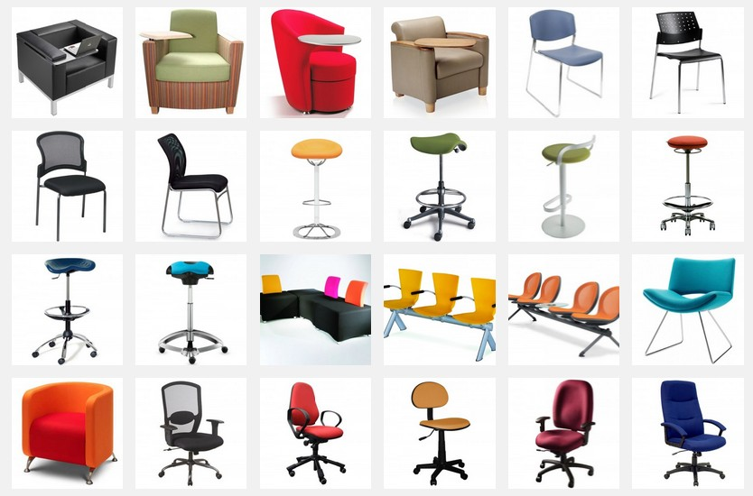 Different Types of Office Chairs Available for Selection