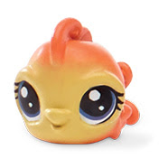 LPS Series 1 Large Playset Flinty Goldfin (#1-71) Pet