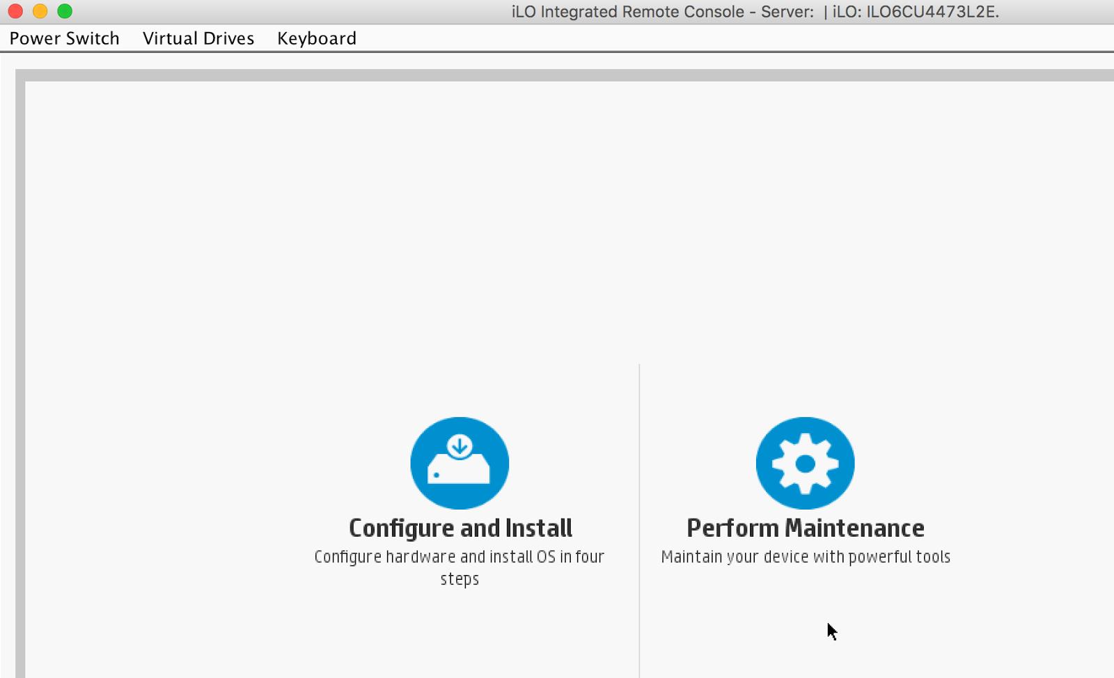 Count Chu: Use MacBook to Install Ubuntu in Gen8 via iLO