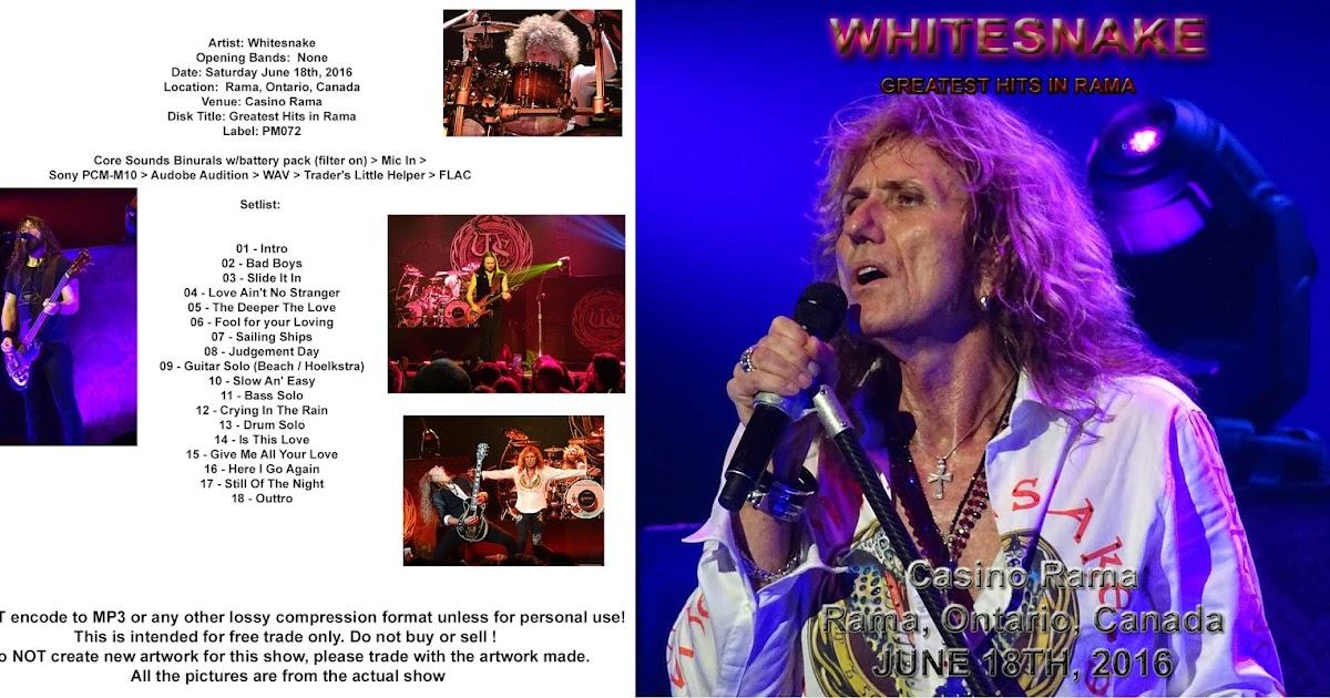 Whitesnake Tour  Canada