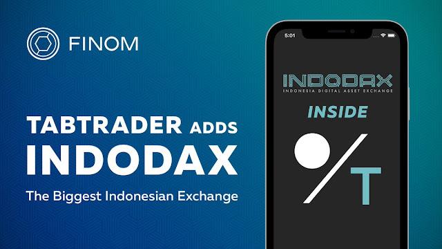 Aplikasi android TabTrader, untuk trading cryptocurrency semua exchagner dalam satu aplikasi