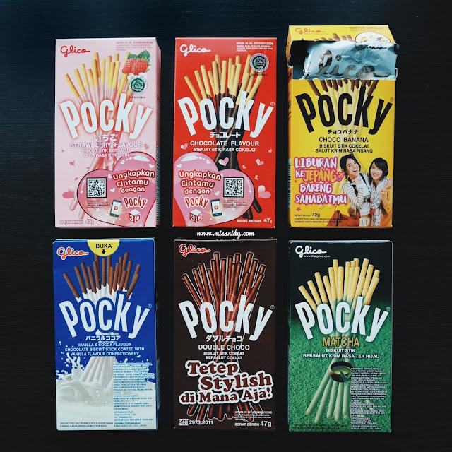 varian rasa pocky glico indonesia