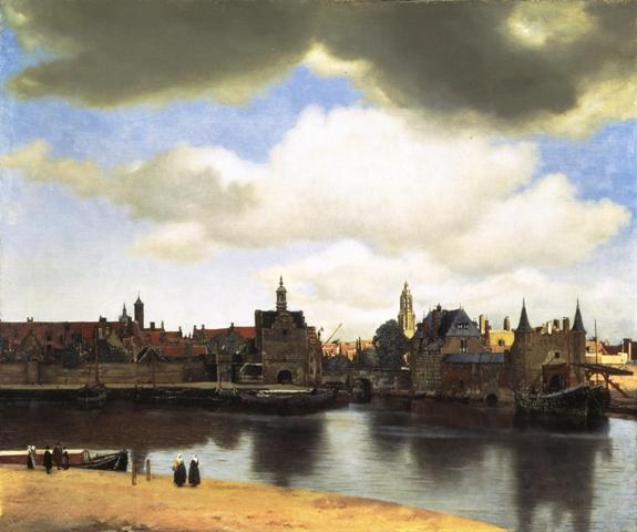 フェルメール「デルフトの眺望」 現代画工 「由三蔵」・美の周辺・・・・・Gallery 空の見世