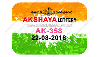 KERALA LOTTERY, kl result yesterday,lottery results, lotteries results, keralalotteries, kerala lottery, keralalotteryresult, kerala   lottery result, kerala lottery result live, kerala lottery results, kerala lottery today, kerala lottery result today, kerala lottery results   today, today kerala lottery result, kerala lottery result 22-08-2018, akshaya lottery results, kerala lottery result today akshaya,   akshaya lottery result, kerala lottery result akshaya today, kerala lottery akshaya today result, akshaya kerala lottery result,   AKSHAYA LOTTERY AK 358 RESULTS 22-08-2018, AKSHAYA LOTTERY AK 358, live AKSHAYA LOTTERY AK-358,   akshaya lottery, kerala lottery today result akshaya, AKSHAYA LOTTERY AK-358, today akshaya lottery result, akshaya lottery   today result, akshaya lottery results today, today kerala lottery result akshaya, kerala lottery results today akshaya, akshaya   lottery today, today lottery result akshaya, akshaya lottery result today, kerala lottery result live, kerala lottery bumper result,   kerala lottery result yesterday, kerala lottery result today, kerala online lottery results, kerala lottery draw, kerala lottery results,   kerala state lottery today, kerala lottare, keralalotteries com kerala lottery result, lottery today, kerala lottery today draw result