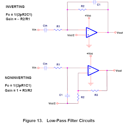 Low pass filter circuit