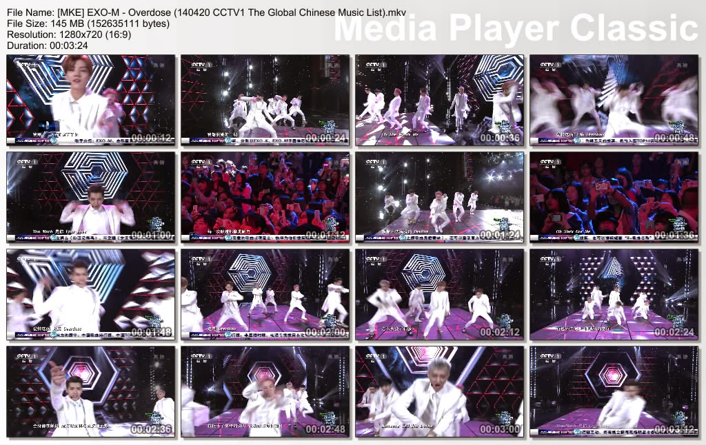 [The Global Chinese Music List 20.04.2014] EXO-M - Overdose %5BMKE%5D+EXO-M+-+Overdose+(140420+CCTV1+The+Global+Chinese+Music+List).mkv_thumbs_%5B2014.04.25_20.12.36%5D