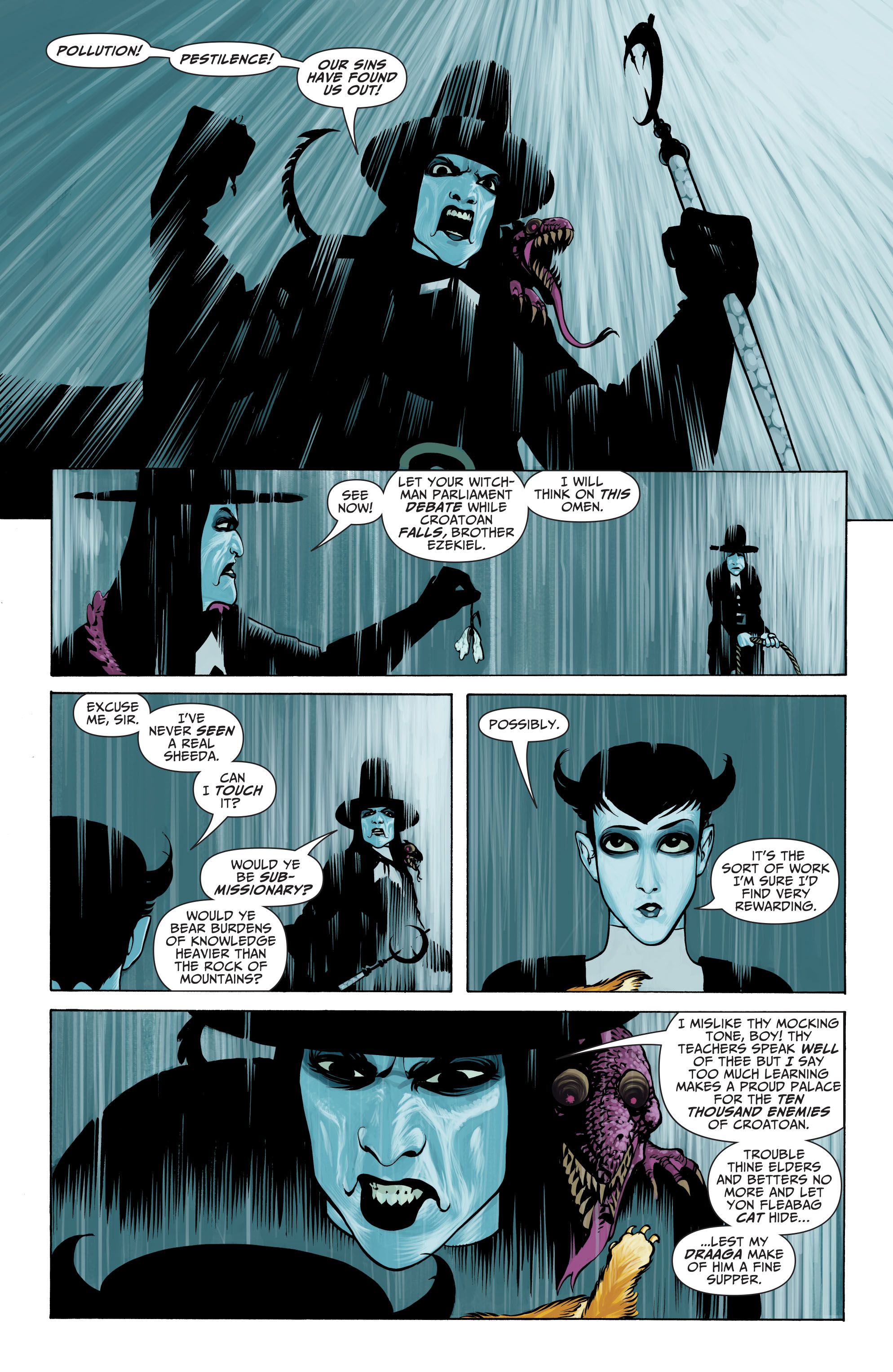Read online Seven Soldiers: Klarion the Witch Boy comic -  Issue #1 - 9