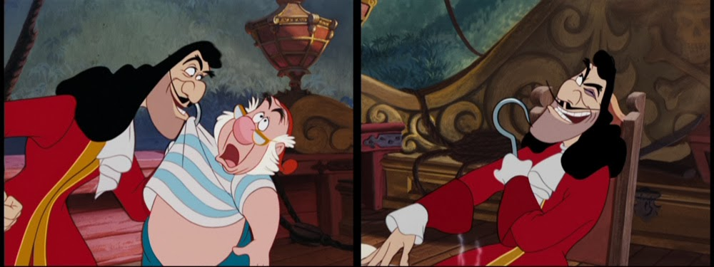 Colorful Animation Expressions Captain Hook S Red Coat