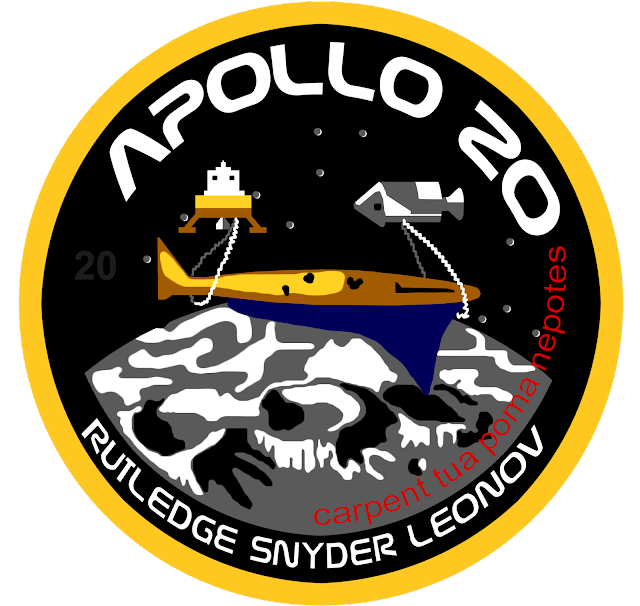 Apollo Moon Mission 20 never got cancelled