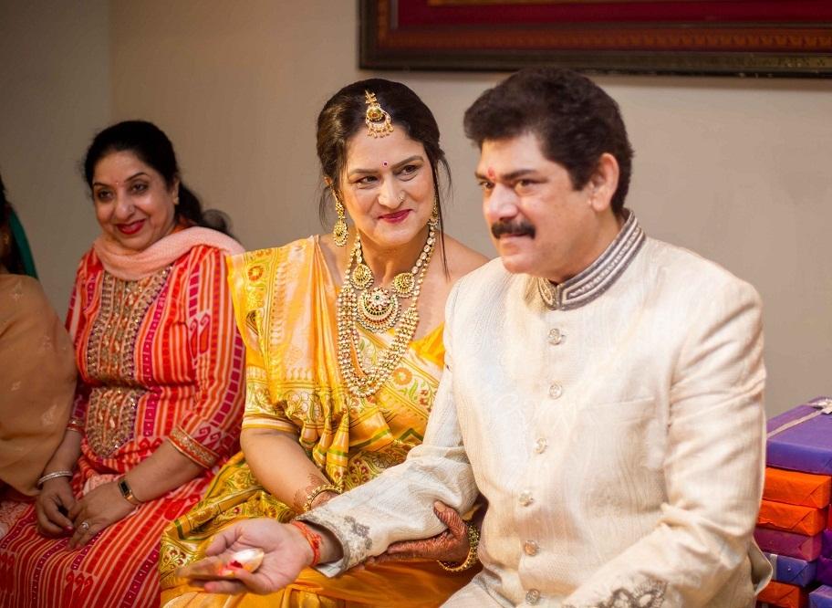 Actor niketan wedding
