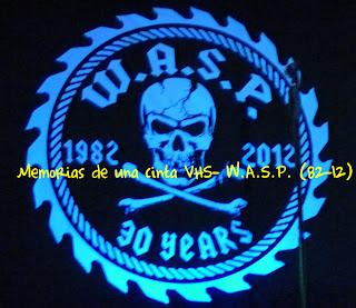 logo de W.A.S.P. 30 years, 1982-2012