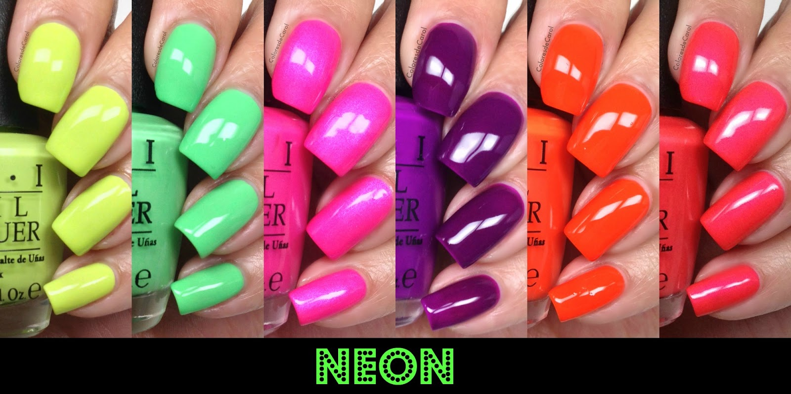 Yarnandbeauty Matte Cotton Candy Nails Feat OPI NEON Tutorial For