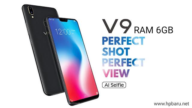Spesifikasi Lengkap VIVO V9 RAM 6 GB