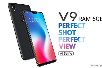 Harga dan Spesifikasi Vivo V9 RAM 6GB Terbaru