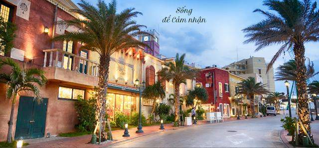 Nét kiến trúc cổ điển tại khu Palm Village