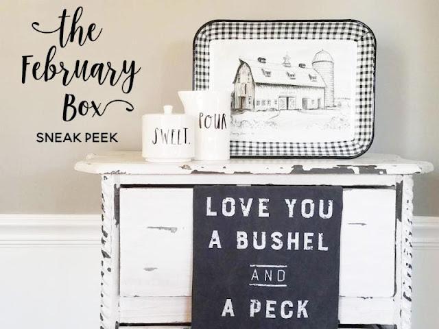 third & main february box