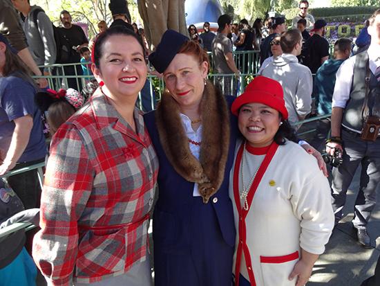 Disneyland Pendleton Dapper Day