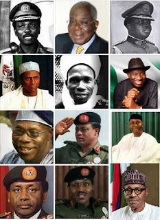 NIGERIAN PRESIDENTS