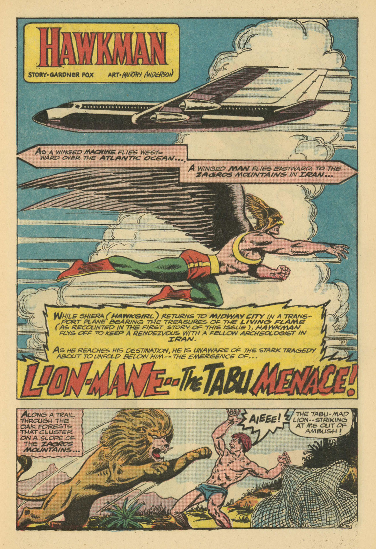 Hawkman (1964) issue 20 - Page 17