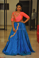 Nithya Shetty in Orange Choli at Kalamandir Foundation 7th anniversary Celebrations ~  Actress Galleries 128.JPG