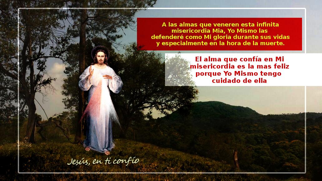jesus misericordioso con mensaje del diario divina miserircorida