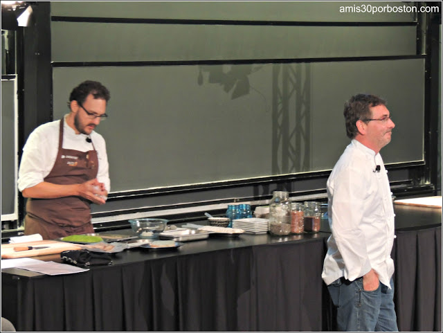 Andoni Luis Aduriz en la Science and Cooking de la Universidad de Harvard