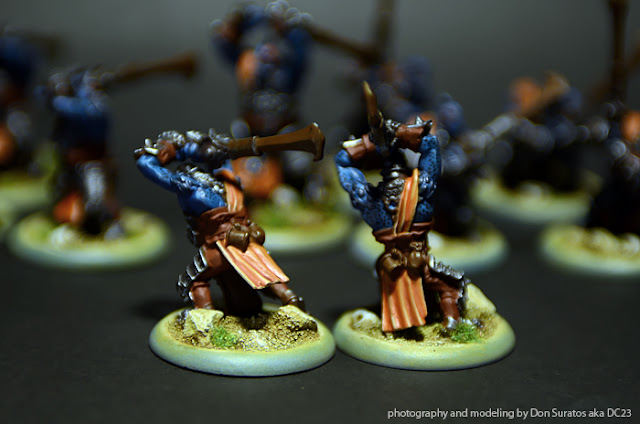 WIP - Trollbloods Fennblades almost done photo