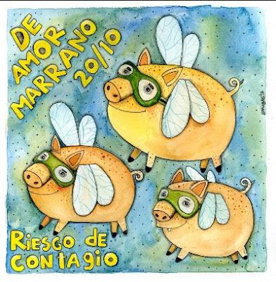 Riesgo De Contagio - De Amor Marrano Vol 1. (2012)