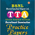 Free Download BSNL Junior Engineer JE General Ability Test-I Previous Solved Papers, E-Books PDF