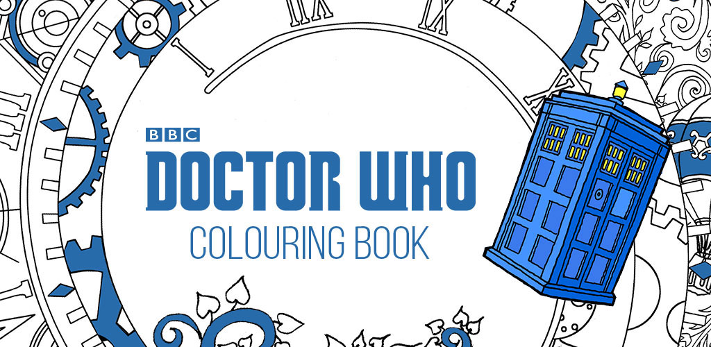 Doctor Who Colouring Book Is Available As An App