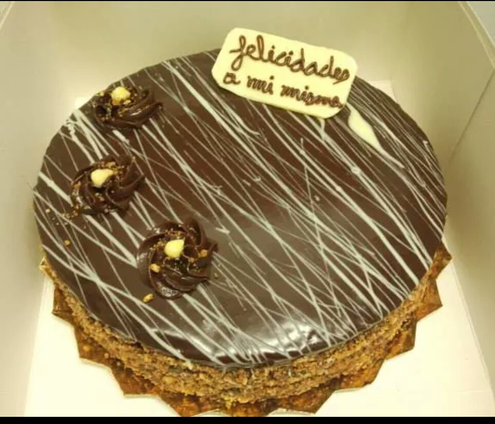 Decorar Tartas Con Ganache De Cafe