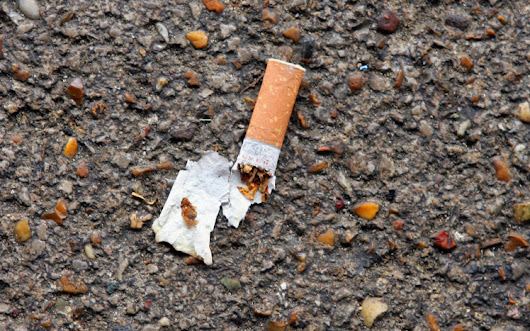 WOMAN FINED £580 FOR LITTERING THE STREET WITH CIGARETTE
