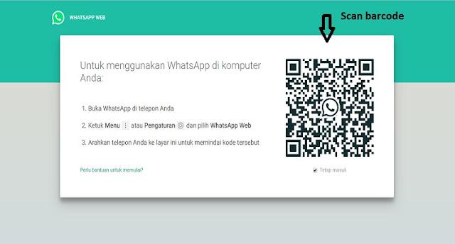 WhatsApp melalui Komputer